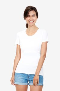 White nursing t-shirt